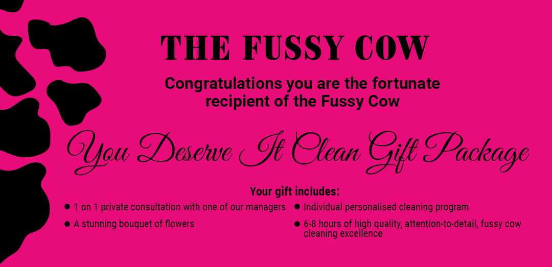 You Deserver it Clean Gift Package